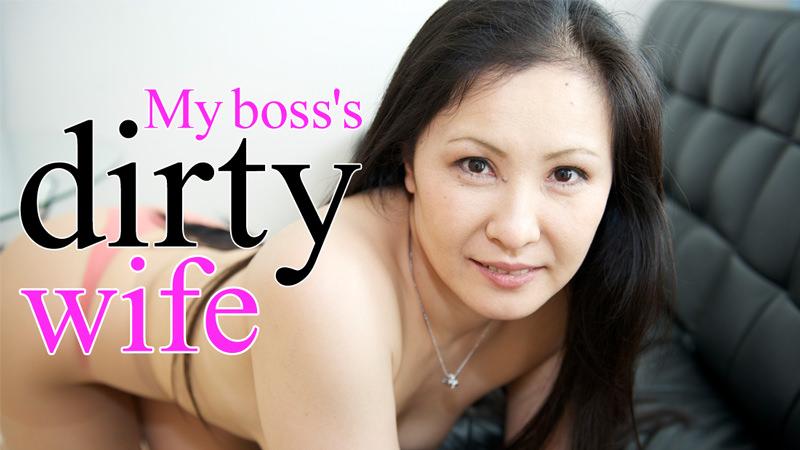 HEYZO-0633 JavWhores My boss's dirty wife – Yayoi Yamashita