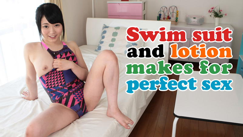 HEYZO-0677 best jav Swim suit and lotion makes for perfect sex – Yuki Kasai
