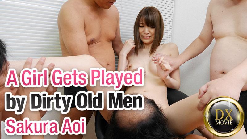 HEYZO-0737 asian incest porn A Girl Gets Played by Dirty Old Men – Sakura Aoi