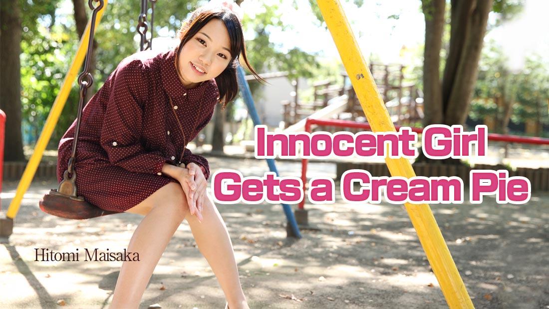 HEYZO-0937 jav stream Innocent Girl Gets a Cream Pie  – Hitomi Maisaka