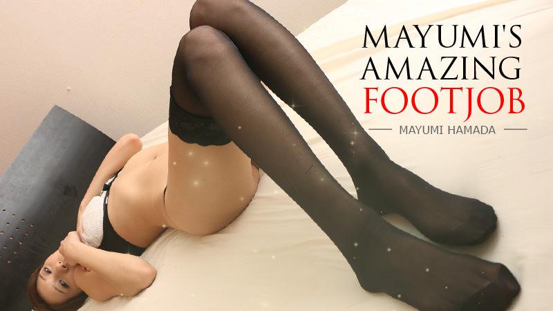 HEYZO-1603 best jav porn Mayumi's Amazing Footjob – Mayumi Hamada