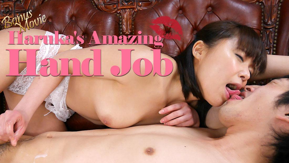 HEYZO-1665 full hd porn movies Haruka's Amazing Hand Job – Haruka Miura