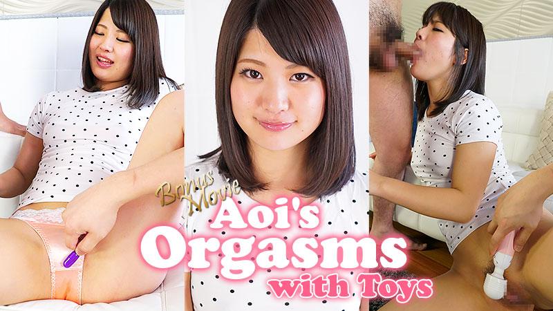 HEYZO-1724 Aoi's Orgasms with Toys – Aoi Mizutani