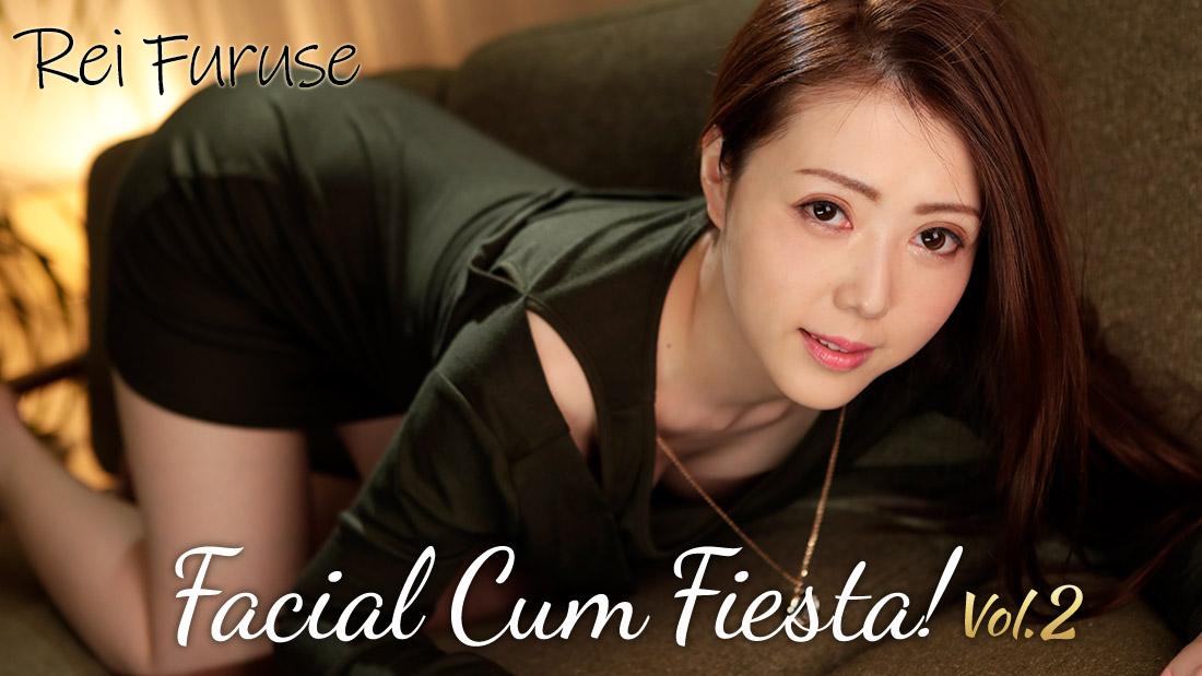 HEYZO-2029 hd porn stream Facial Cum Fiesta! Vol.2 – Rei Furuse